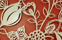 Laser Cut Metal by Rebecca Stoner